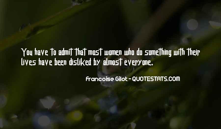 Francoise Gilot Quotes #788649