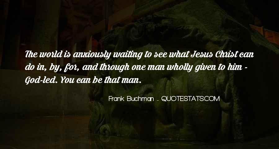 Frank Buchman Quotes #911544