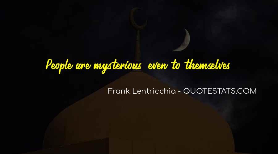 Frank Lentricchia Quotes #377123