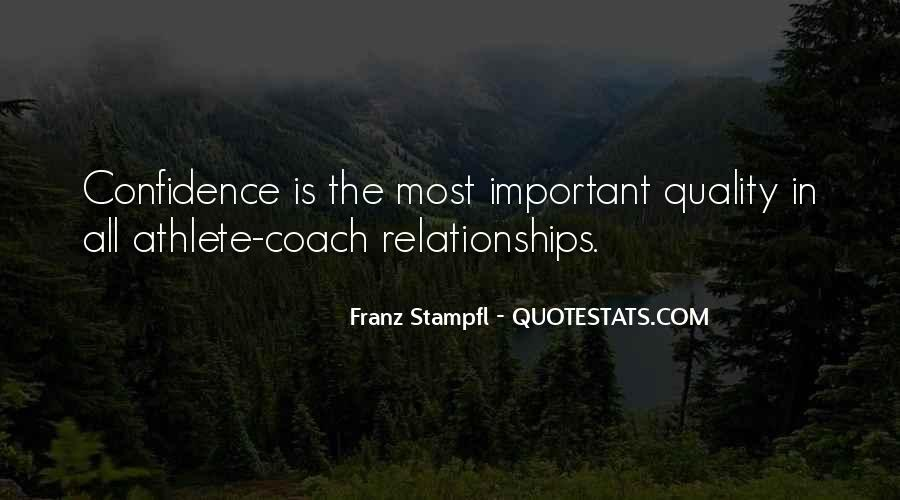 Franz Stampfl Quotes #1054311