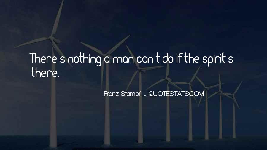 Franz Stampfl Quotes #1676255