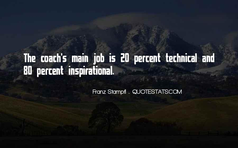 Franz Stampfl Quotes #1757619