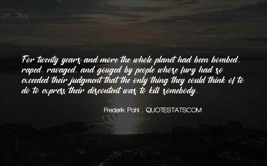 Frederik Pohl Quotes #1091212