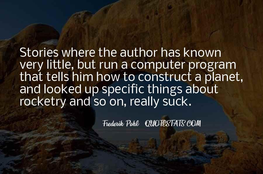 Frederik Pohl Quotes #119910