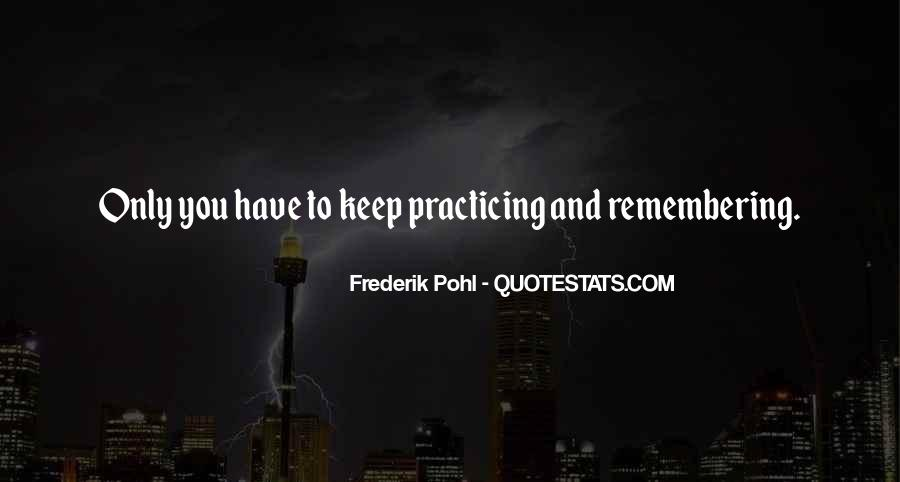 Frederik Pohl Quotes #28504