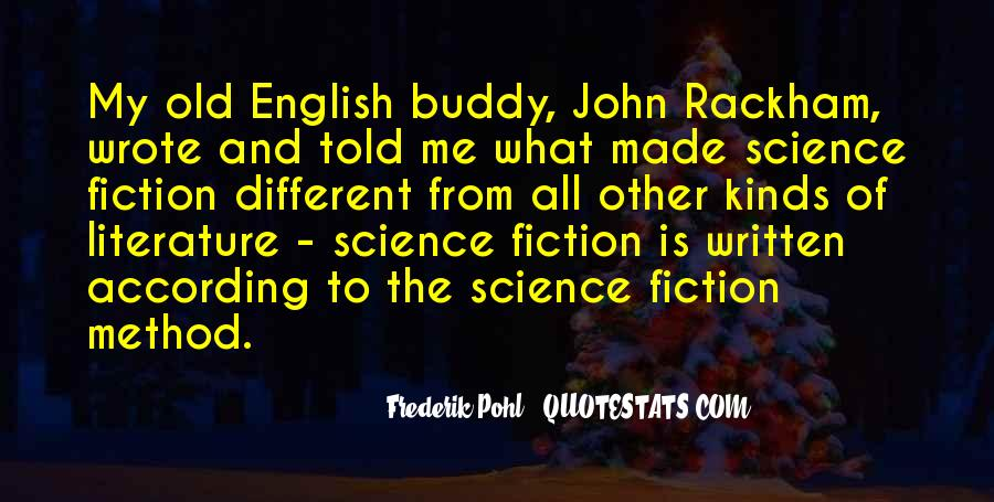 Frederik Pohl Quotes #290071