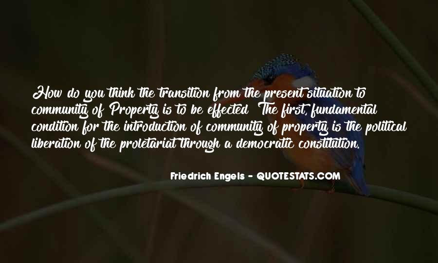 Friedrich Engels Quotes #105733