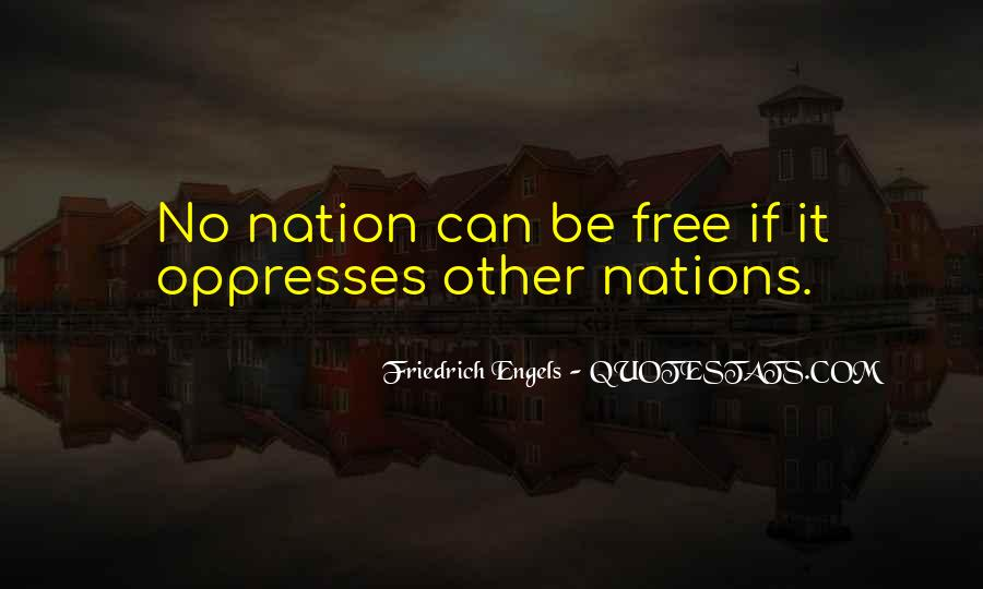 Friedrich Engels Quotes #1862924