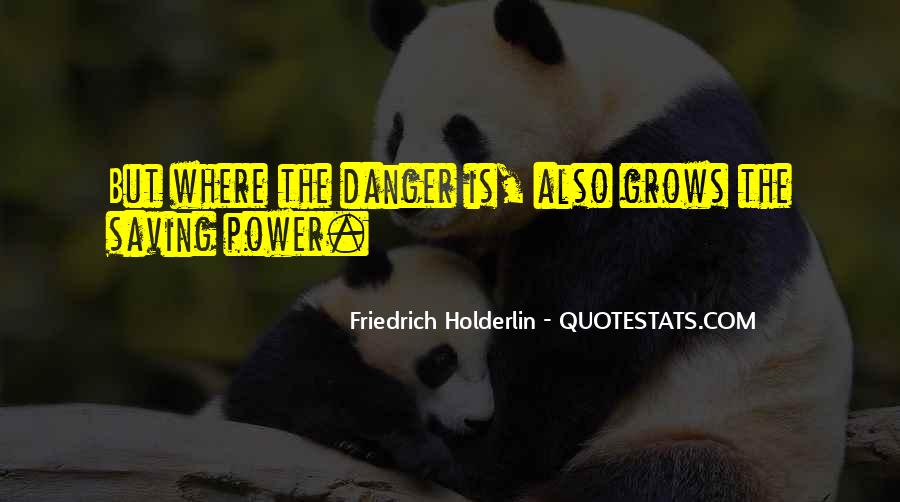 Friedrich Holderlin Quotes #11127