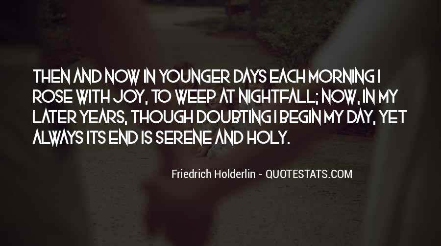 Friedrich Holderlin Quotes #569044