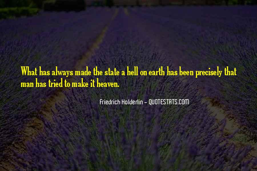 Friedrich Holderlin Quotes #910611