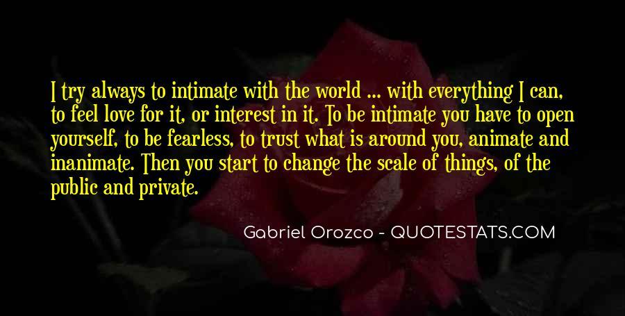 Gabriel Orozco Quotes #1472075