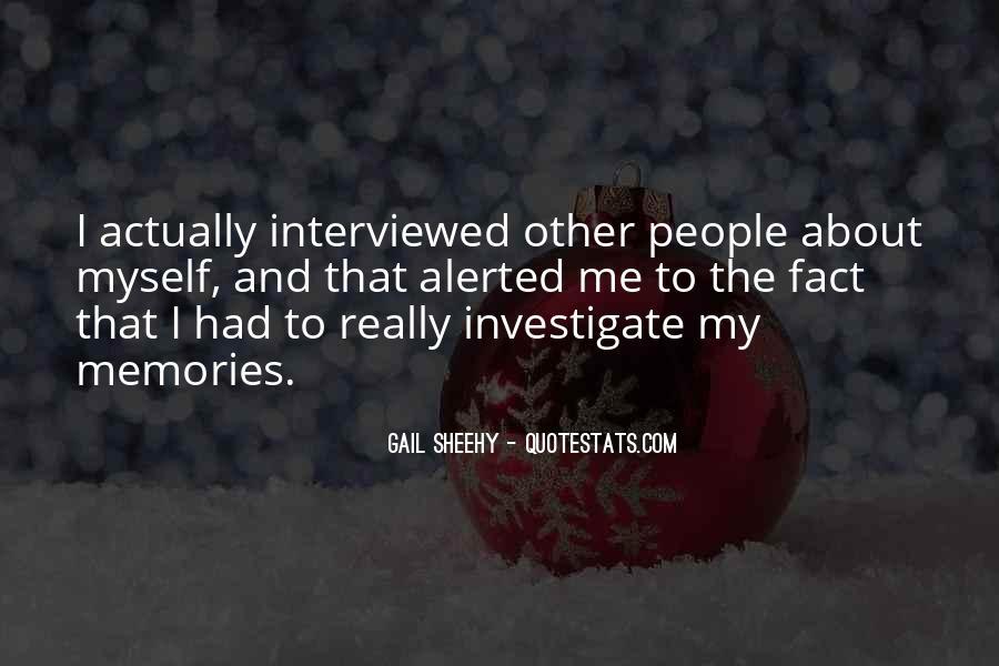 Gail Sheehy Quotes #1041536