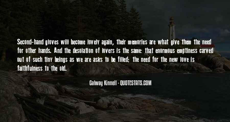 Galway Kinnell Quotes #1014938