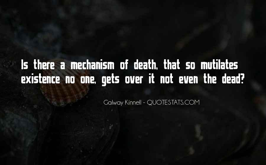 Galway Kinnell Quotes #334672