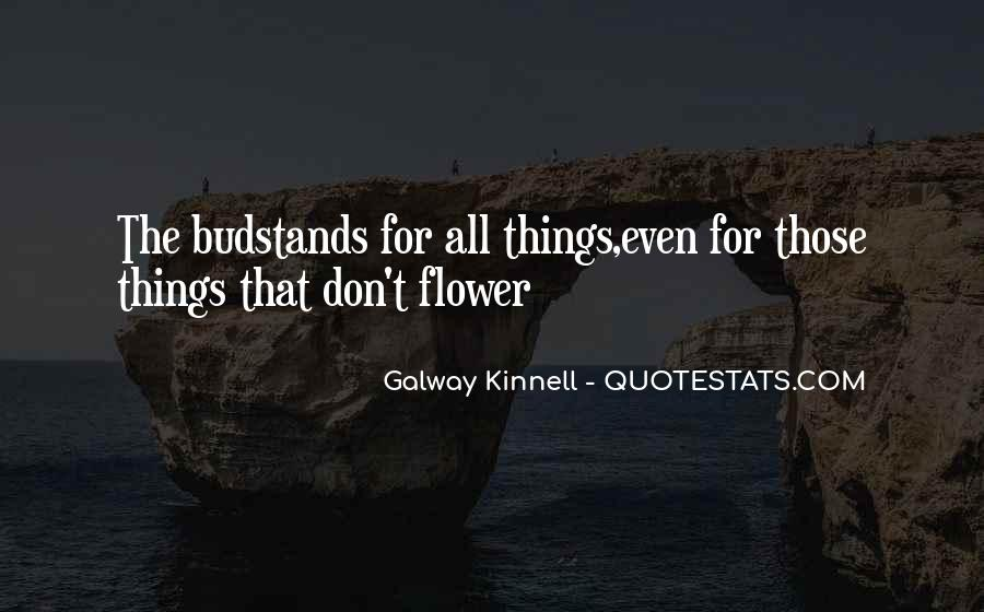Galway Kinnell Quotes #399500