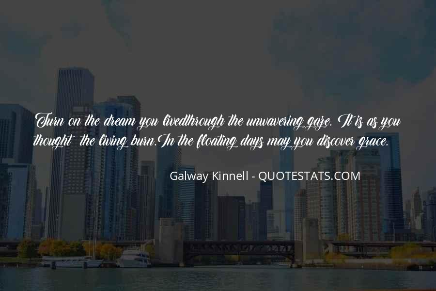 Galway Kinnell Quotes #815678