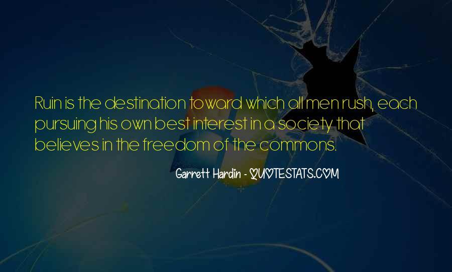 Garrett Hardin Quotes #227579