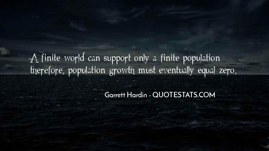 Garrett Hardin Quotes #491824