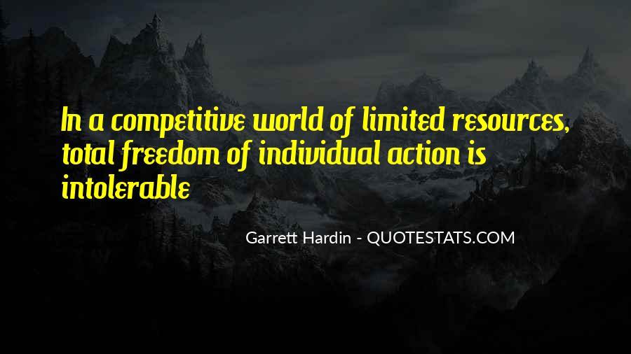 Garrett Hardin Quotes #624469