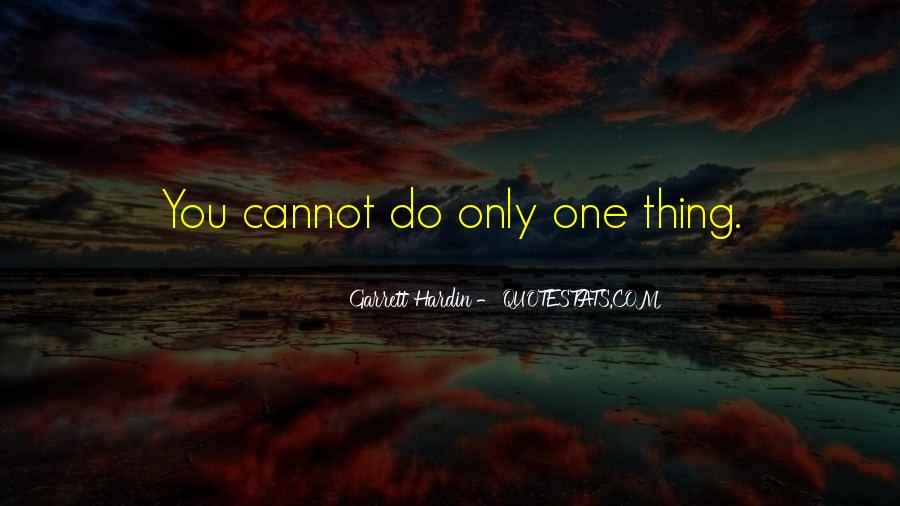 Garrett Hardin Quotes #63881