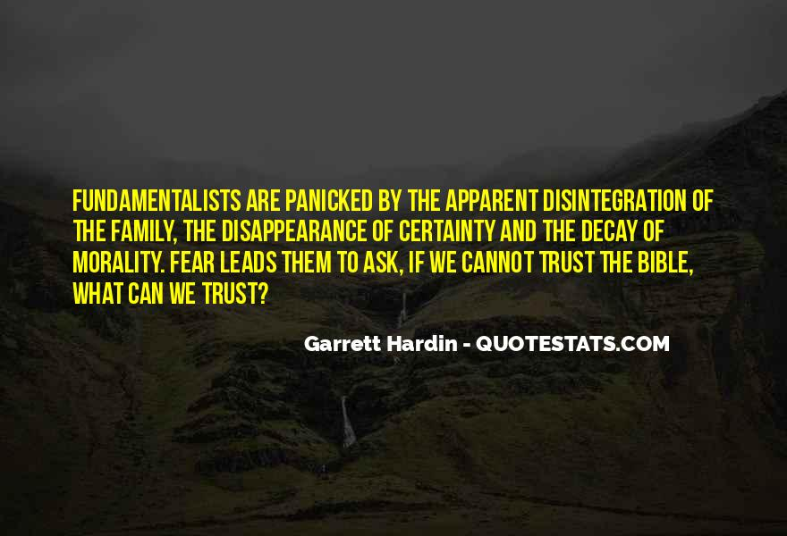 Garrett Hardin Quotes #665221