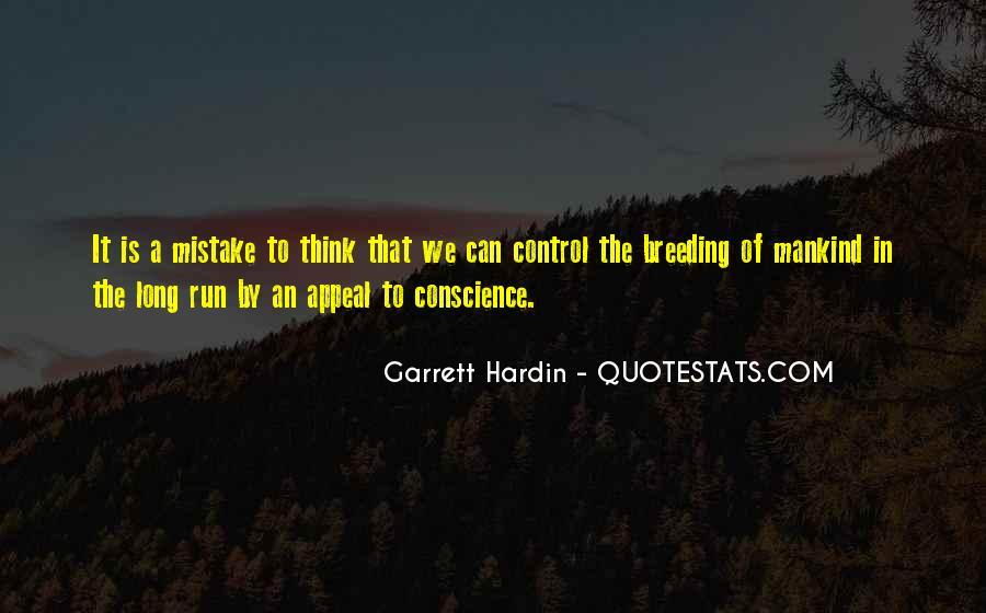 Garrett Hardin Quotes #926317