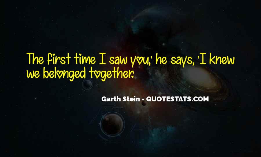 Garth Stein Quotes #1054418