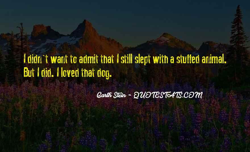 Garth Stein Quotes #107930