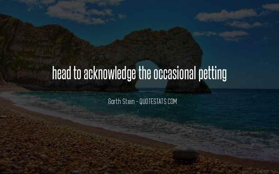 Garth Stein Quotes #1239639