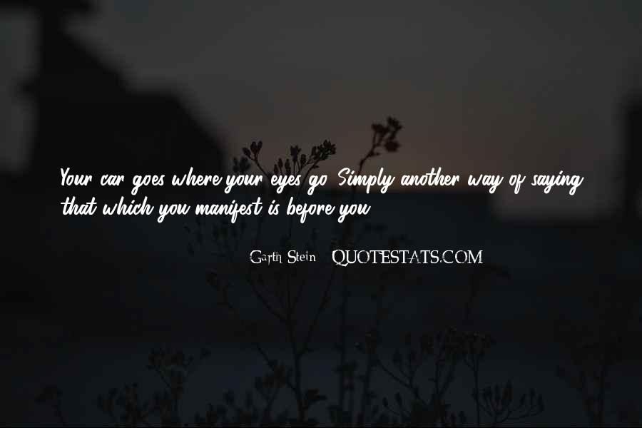 Garth Stein Quotes #214947