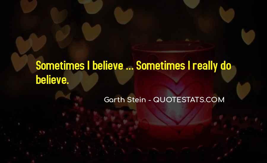 Garth Stein Quotes #218044