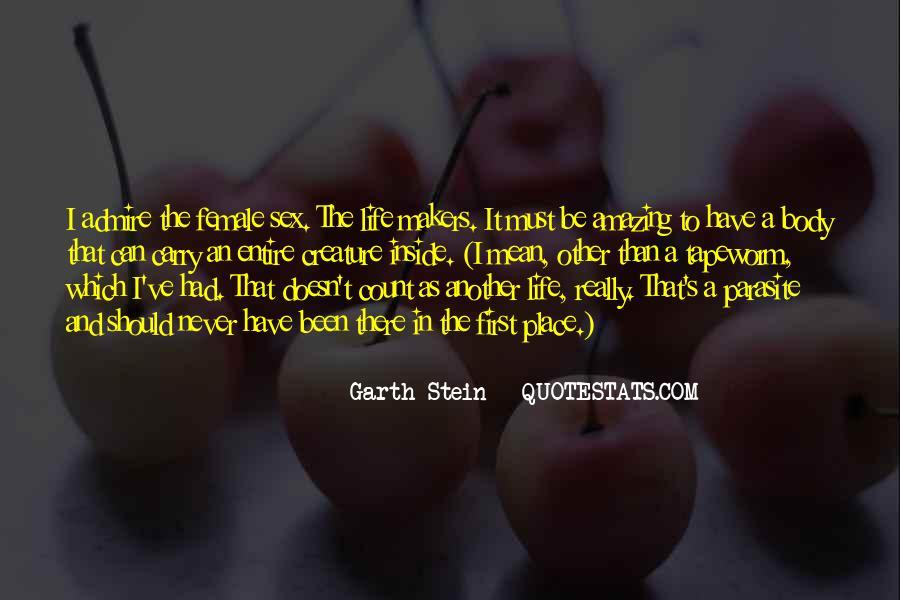 Garth Stein Quotes #256376