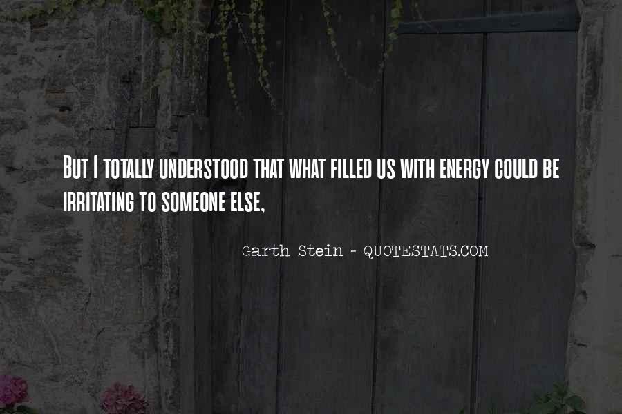 Garth Stein Quotes #287715