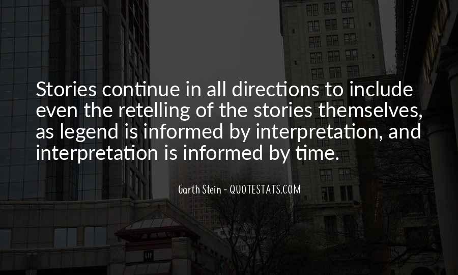 Garth Stein Quotes #525699