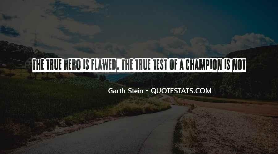 Garth Stein Quotes #595843