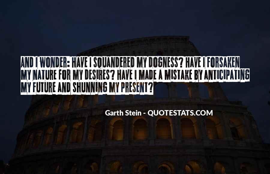 Garth Stein Quotes #731567