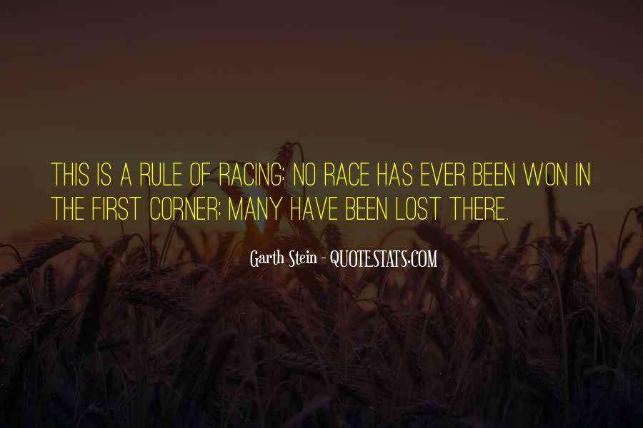 Garth Stein Quotes #753572