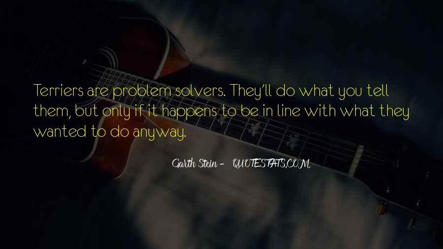 Garth Stein Quotes #770340