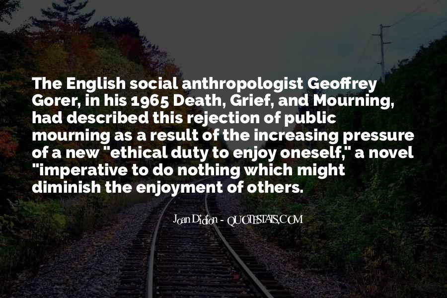 Geoffrey Gorer Quotes #1367553