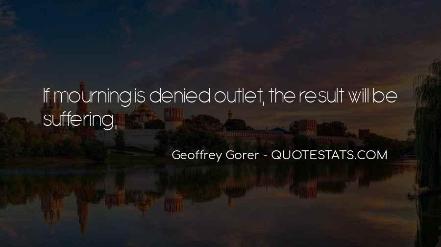 Geoffrey Gorer Quotes #1610189