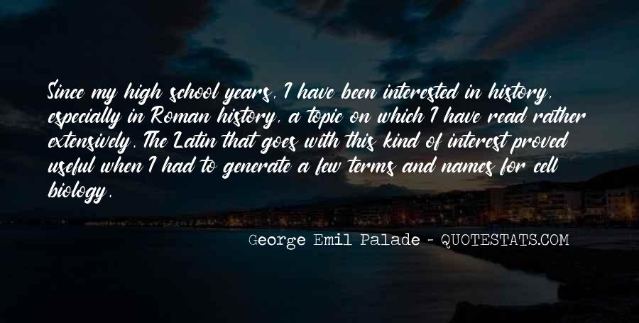George Emil Palade Quotes #1735781