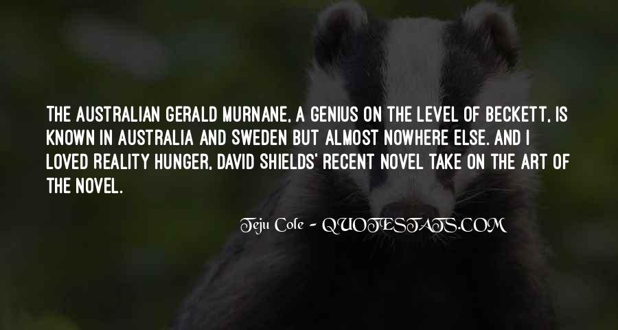 Gerald Murnane Quotes #1471656