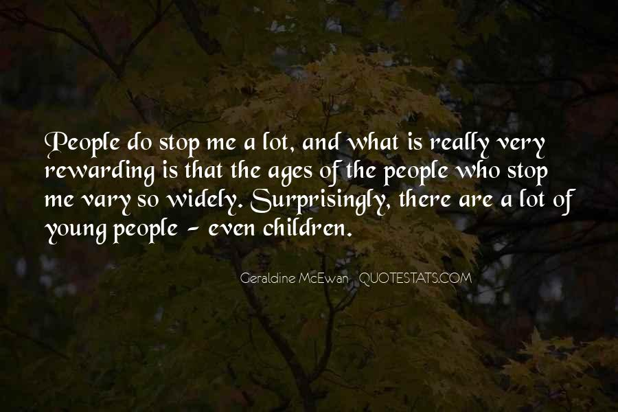 Geraldine Mcewan Quotes #426432