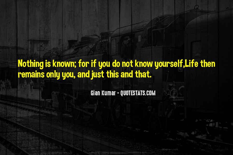 Gian Kumar Quotes #1139840