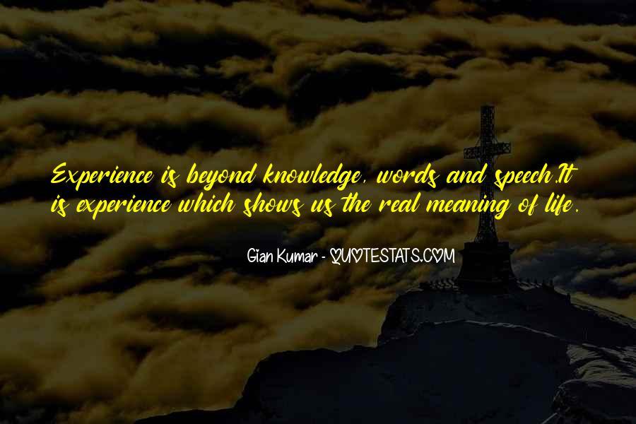 Gian Kumar Quotes #27594