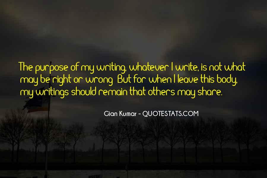 Gian Kumar Quotes #348198