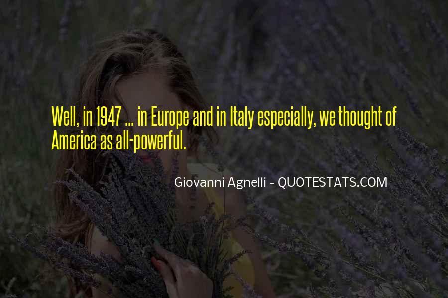 Giovanni Agnelli Quotes #1174347