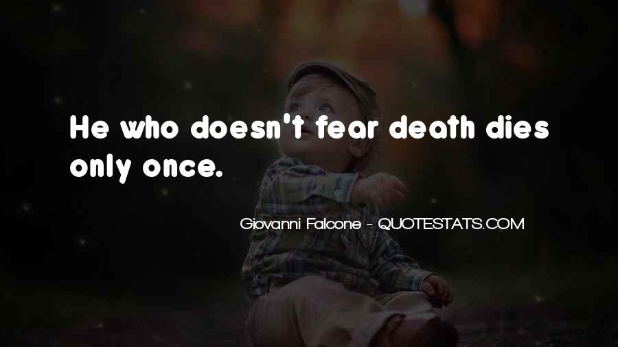 Giovanni Falcone Quotes #110520