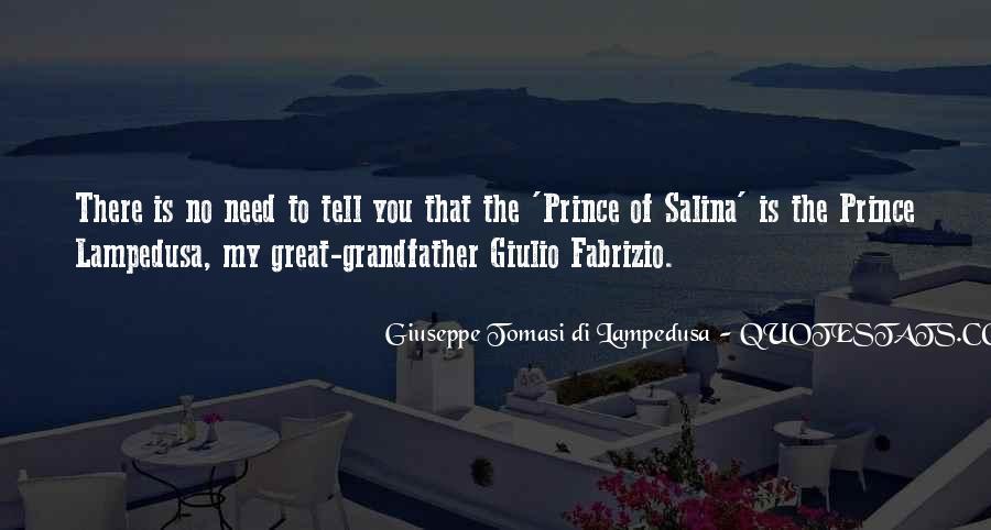 Giuseppe Tomasi Di Lampedusa Quotes #1051539